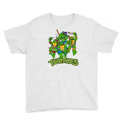 Ninja Turtles Youth Tee Designed By Salmanaz