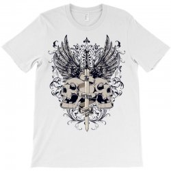 sword and skull T-Shirt | Artistshot
