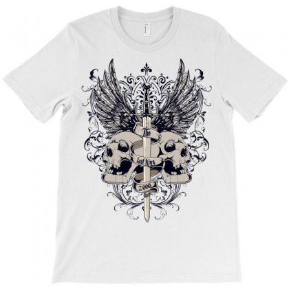 Sword And Skull T-shirt Designed By Salmanaz