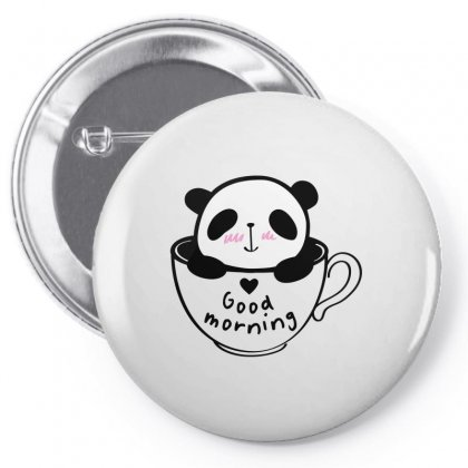 Good Morming Pin-back Button Designed By Suettan
