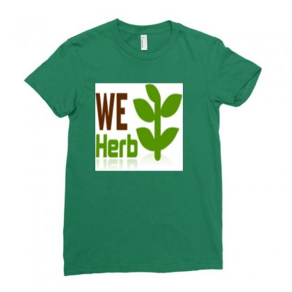 Herb Ladies Fitted T-shirt Designed By Freezer30