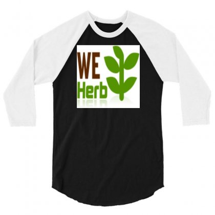 Herb 3/4 Sleeve Shirt Designed By Freezer30
