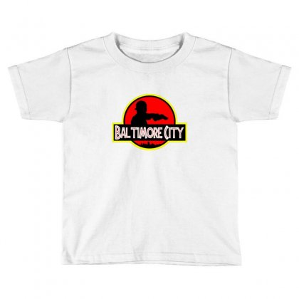 Baltimore City Toddler T-shirt Designed By Sr88