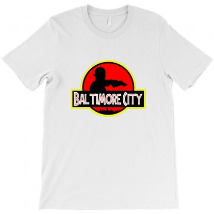 Baltimore City T-shirt Designed By Sr88