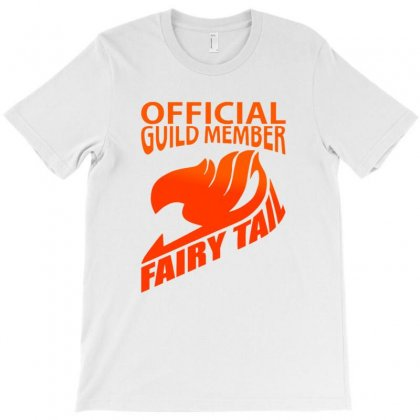 Offical Guild Member Of Fairy Tail T-shirt Designed By Acoy