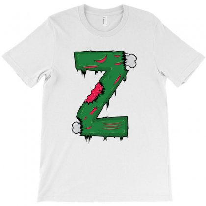 Z For Zombies T-shirt Designed By Acoy