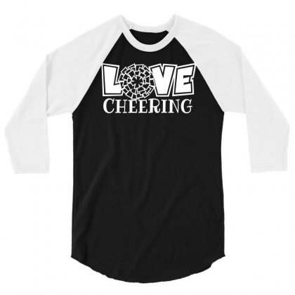 Love Cheering 3/4 Sleeve Shirt Designed By Bon T-shirt