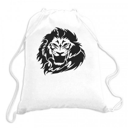 Lion Head Drawstring Bags Designed By Bon T-shirt