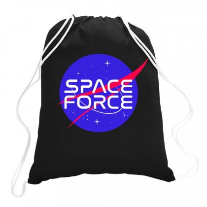 Space Force Drawstring Bags Designed By Joo Joo Designs