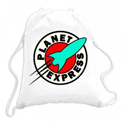 The Planet Express Drawstring Bags Designed By Joo Joo Designs