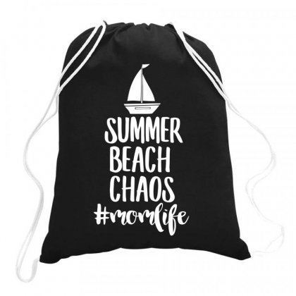 Summer Beach Drawstring Bags Designed By Bon T-shirt