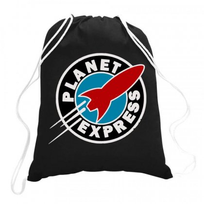 Planet Express Drawstring Bags Designed By Joo Joo Designs