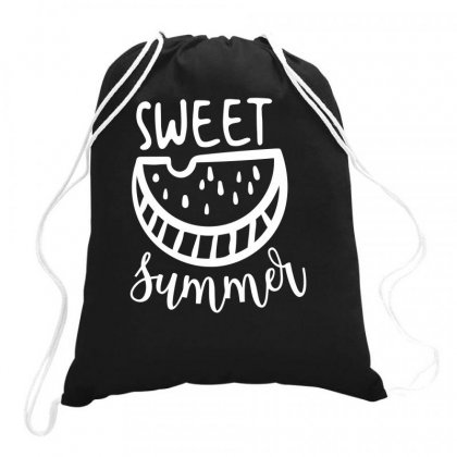 Sweet Summer Drawstring Bags Designed By Bon T-shirt