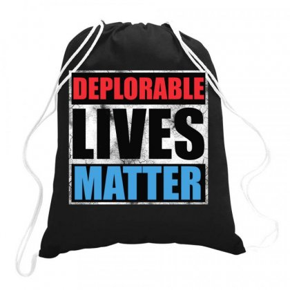 Deplorable Lives Matter Drawstring Bags Designed By Joo Joo Designs