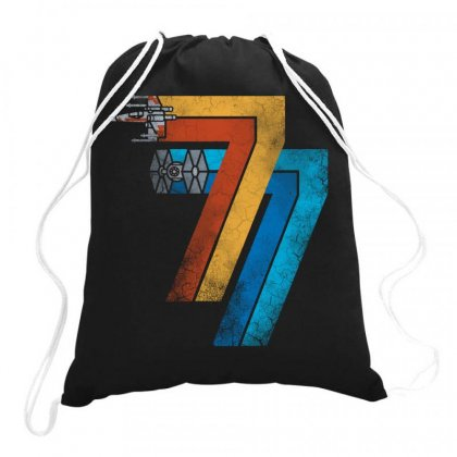 1977 Galaxy Drawstring Bags Designed By Joo Joo Designs