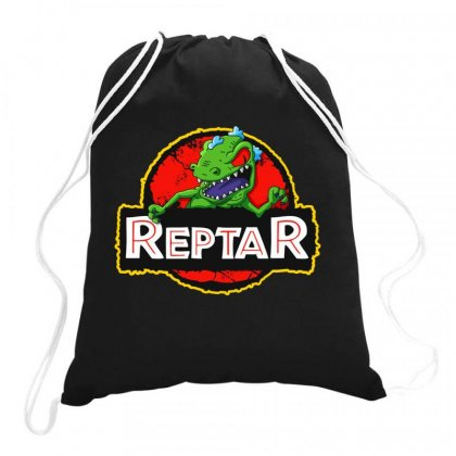 Reptar Drawstring Bags Designed By Joo Joo Designs