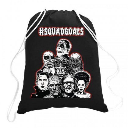 Squad Goals Drawstring Bags Designed By Joo Joo Designs