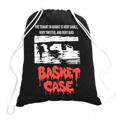 Basket Case 80s Horror Movie Drawstring Bags Designed By Ronandi