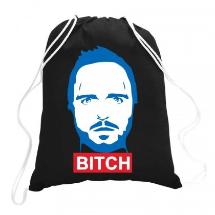 Breaking Bad American Apparel Walter Drawstring Bags Designed By Ronandi
