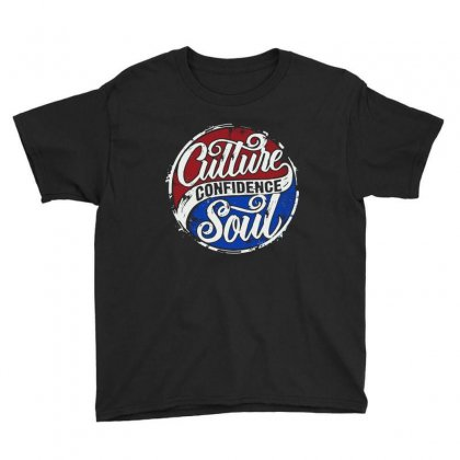 Culture Confidence Youth Tee Designed By Joo Joo Designs
