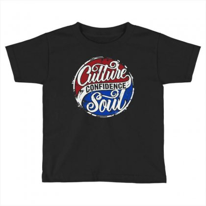 Culture Confidence Toddler T-shirt Designed By Joo Joo Designs