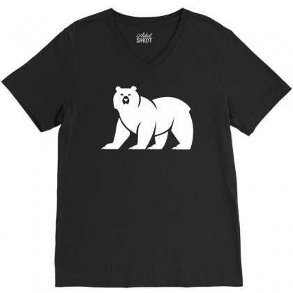 House Mormont V-neck Tee Designed By Ronandi