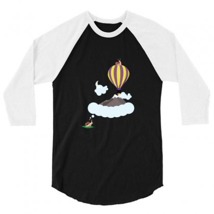 Snails Can Dream,too 3/4 Sleeve Shirt Designed By Sr88