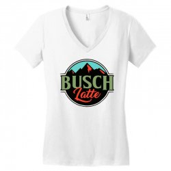 vintage busch light busch latte Women's V-Neck T-Shirt | Artistshot