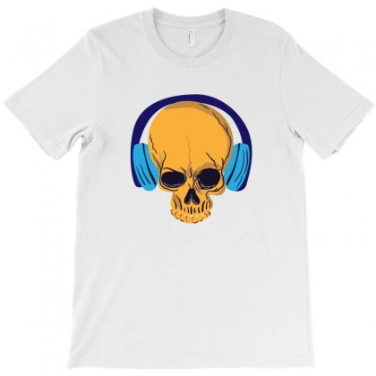 Musical Skull T-shirt Designed By Designsbymallika