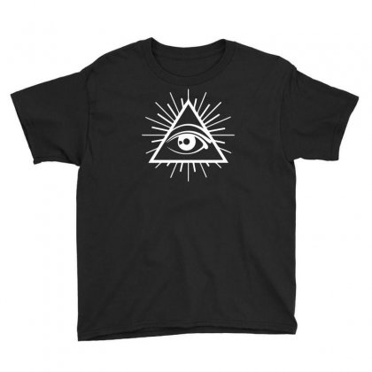 All Seeing Eye Youth Tee Designed By Ronandi
