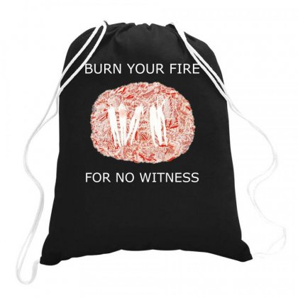 Angel Olsen Burn Your Fire For No Witness Rock Music Band Cd Drawstring Bags Designed By Ronandi