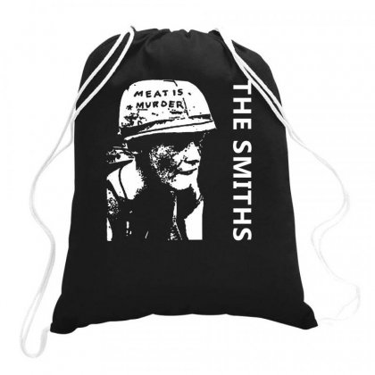 The Smiths Meat Morrissey Drawstring Bags Designed By Ronandi