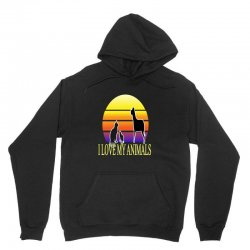animals cat and dog Unisex Hoodie | Artistshot