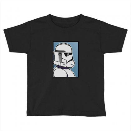 Blank Clone Trooper Toddler T-shirt Designed By Sr88