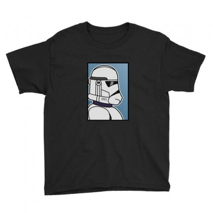 Blank Clone Trooper Youth Tee Designed By Sr88
