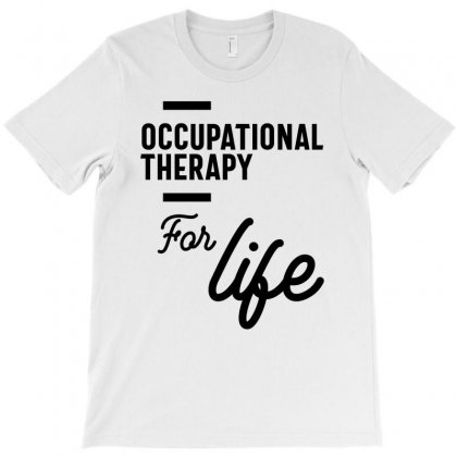 Occupational Therapy Work Job Title Gift T-shirt Designed By Cidolopez