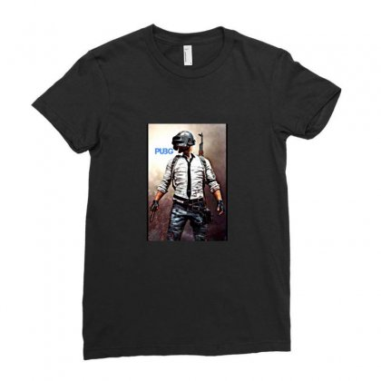 Pubg Ladies Fitted T-shirt Designed By Artist1