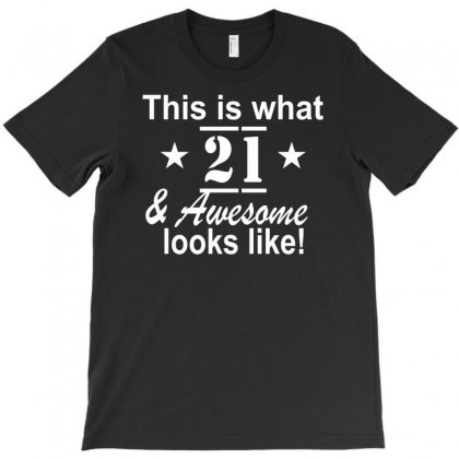 21st Birthday T-shirt Designed By Ronandi