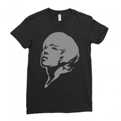 G Dragon Airbrush Stencil Ladies Fitted T-shirt Designed By Ronandi