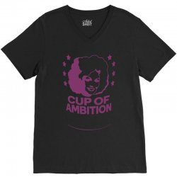 cup of ambition V-Neck Tee | Artistshot