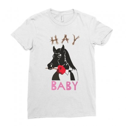 Hay Baby Ladies Fitted T-shirt Designed By Desi