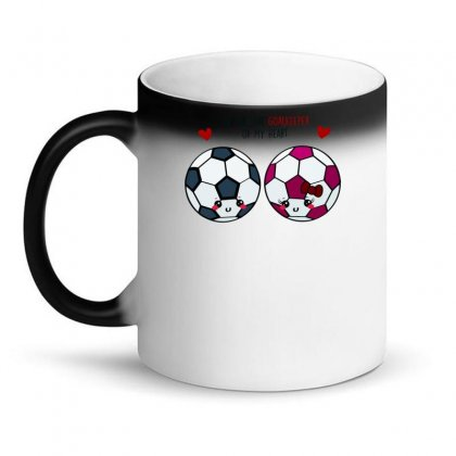 You Are The Goalkeeper Of My Heart (2) Magic Mug Designed By Desi