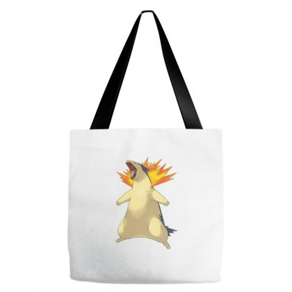 Cyndaquil Tote Bags Designed By Acoy