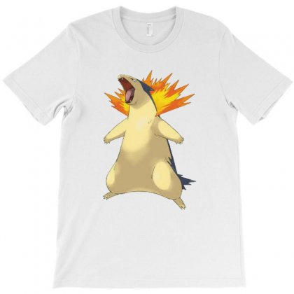 Cyndaquil T-shirt Designed By Acoy