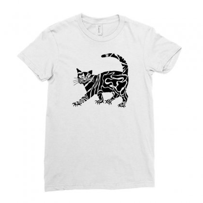Style Animal Ladies Fitted T-shirt Designed By Desi