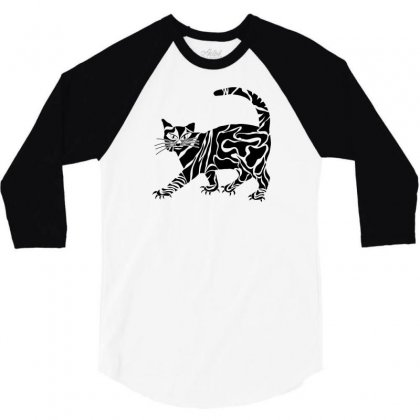 Style Animal 3/4 Sleeve Shirt Designed By Desi