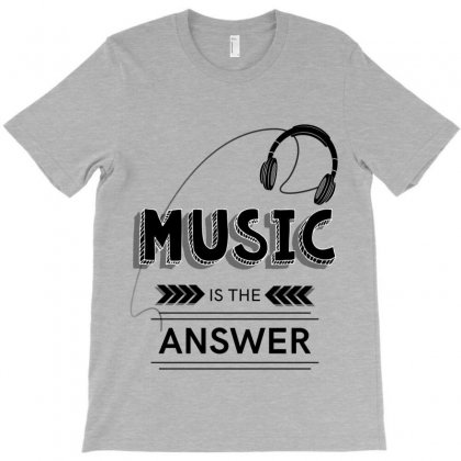 Music T-shirt Designed By Miss.illustration