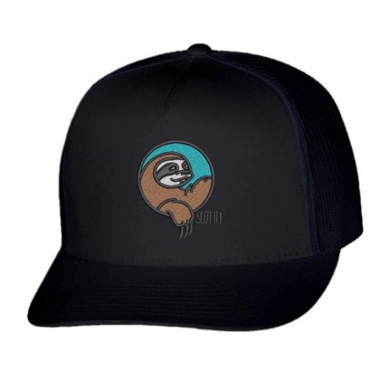 Sloth Trucker Cap Designed By Madhatter