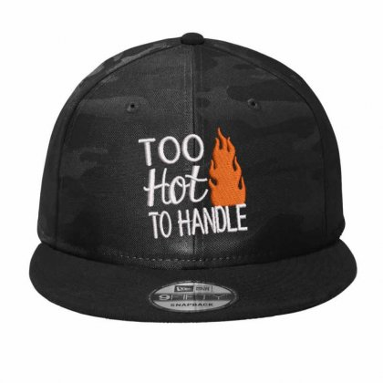 Too Hot Camo Snapback Designed By Madhatter