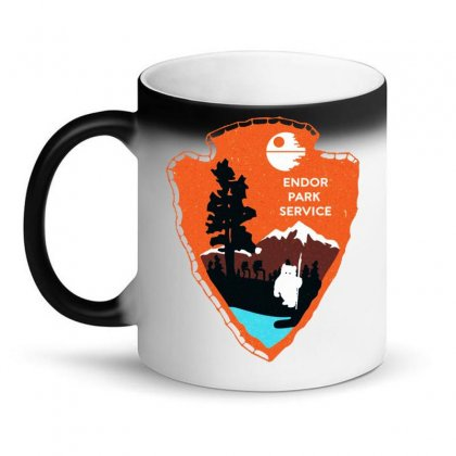 Endor Park Service Badge Magic Mug Designed By Dorothy Tees